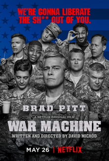 War Machine on Netflix!