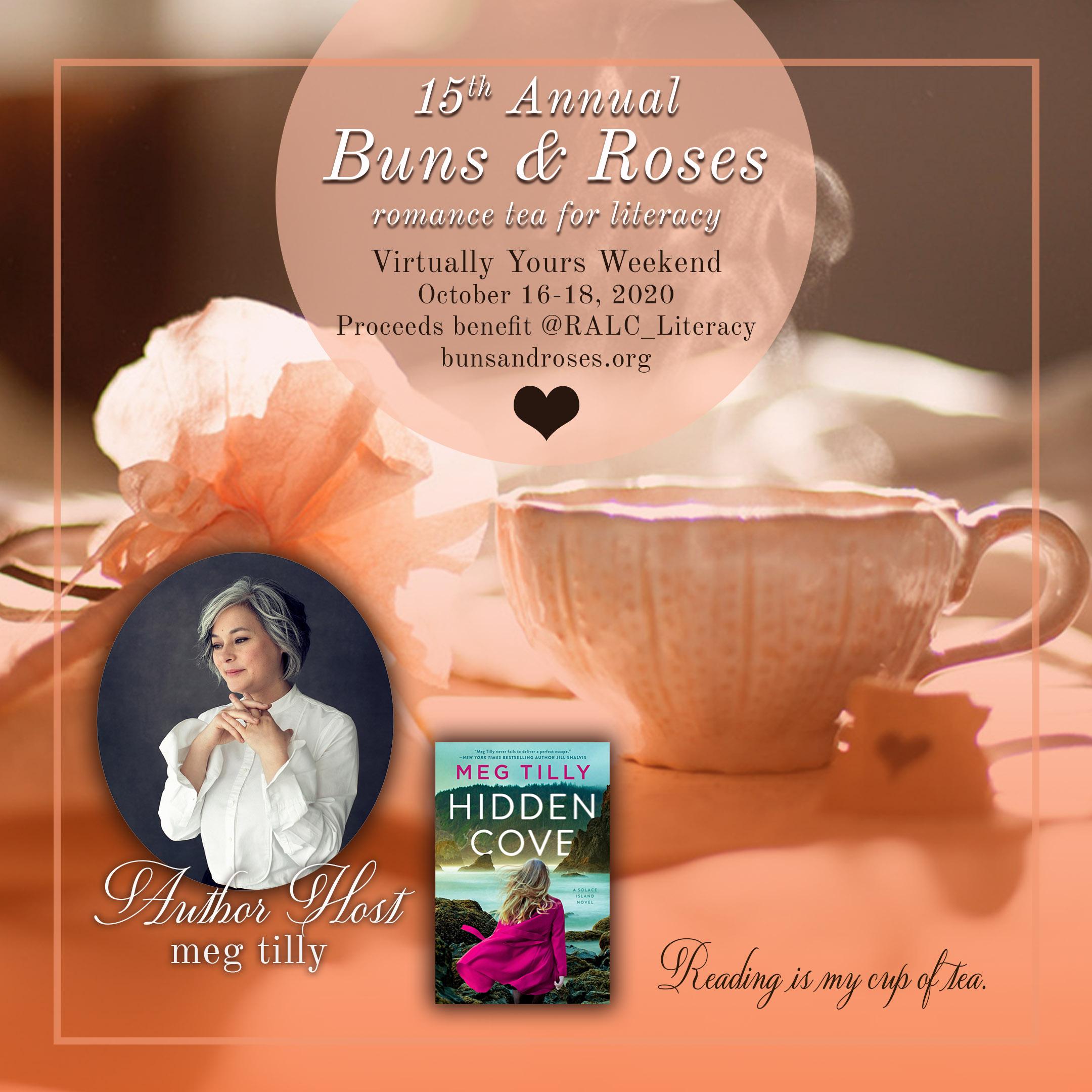 Buns & Roses Romance Tea for Literacy