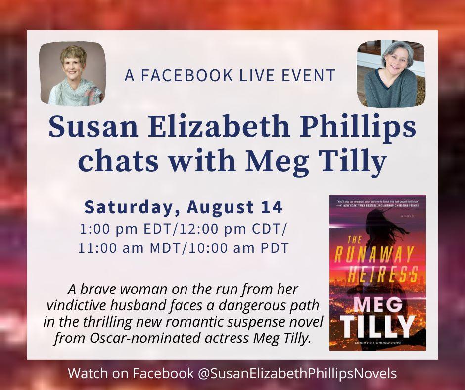 Facebook Live Chat with Susan Elizabeth Phillips!